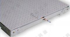 双层缓冲碳钢电子地磅,电子打印缓冲地上衡